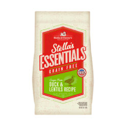 Stella's Essentials Grain-Free Cage Free Duck & Lentils Recipe Dry Dog Food