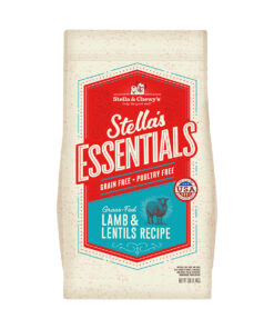 Stella's Essentials Grain-Free Grass-Fed Lamb & Lentils Recipe Dry Dog Food