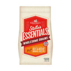 Stella's Essentials Wholesome Grains Grass Fed Beef & Ancient Grains Recipe Dry Dog Food