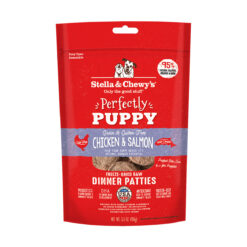Stella & Chewy's Perfectly Puppy Chicken & Salmon Dinner Patties Freeze-Dried Raw Dog Food