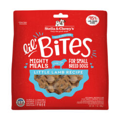 Stella & Chewy's Lil' Bites Little Lamb Recipe Small Breed Freeze-Dried Raw Dog Food