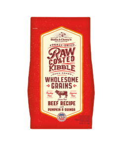 Stella & Chewy's Freeze-Dried Raw Coated Wholesome Grains Grass-Fed Beef Recipe Dry Dog Food