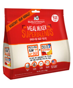 Stella & Chewy's SuperBlends Grass-Fed Beef Recipe Meal Mixers Freeze-Dried Raw Dog Food