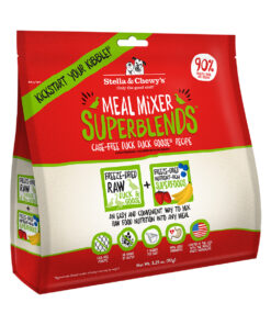 Stella & Chewy's SuperBlends Cage-Free Duck Duck Goose Recipe Meal Mixers Freeze-Dried Raw Dog Food Topper