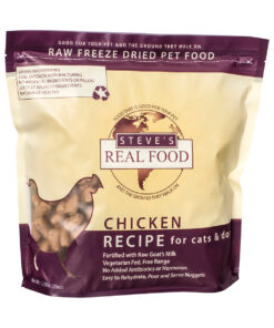 Steve's Real Food Raw Freeze Dried Chicken Diet Dog Food