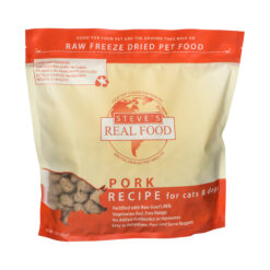 Steve's Real Food Raw Freeze Dried Pork Diet Dog Food