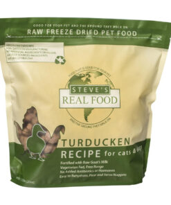 Steve's Real Food Raw Freeze Dried Turducken Diet Dog Food