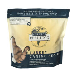 Steve's Real Food Raw Freeze Dried Turkey Diet Dog Food