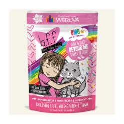 Best Feline Friend OMG Devour Me Tuna & Duck Dinner in Gravy Wet Cat Food Pouches
