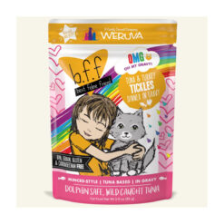 Best Feline Friend OMG Tickles Tuna & Turkey Dinner in Gravy Wet Cat Food Pouches