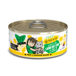 Best Feline Friend Play Laugh Out Loud Chicken & Lamb Dinner Pate Canned Cat Food