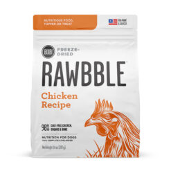 Bixbi Rawbble Freeze Dried Chicken Recipe Dry Dog Food
