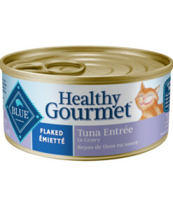 Blue Buffalo Healthy Gourmet Flaked Tuna Entree in Gravy Canned Cat Food