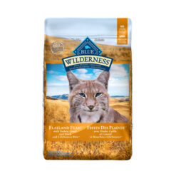 Blue Buffalo Wilderness Flatland Feast with Turkey, Quail & Duck Grain-Free Dry Cat Food