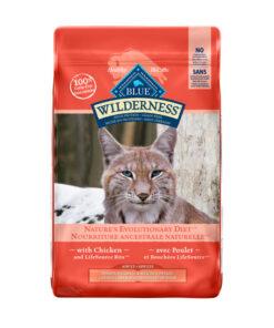 Blue Buffalo Wilderness Indoor Hairball & Weight Control Chicken Recipe Grain-Free Dry Cat Food