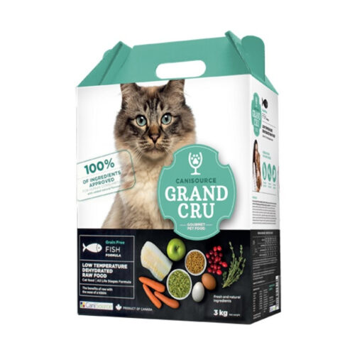 Canisource Grand Cru Grain Free Fish Formula Dehydrated Cat Food