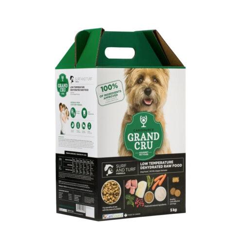 CaniSource Grand Cru Surf & Turf Formula Dehydrated Dog Food
