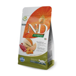 Farmina N&D Pumpkin Duck, Pumpkin and Cantaloupe Melon Recipe Adult Dry Cat Food
