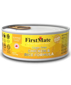 FirstMate Grain Friendly Cage-free Chicken & Rice Formula Canned Cat Food