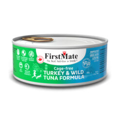 FirstMate 50/50 Turkey & Tuna Formula Grain-Free Canned Cat Food