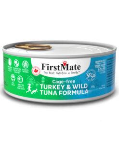 FirstMate 50/50 Turkey & Tuna Formula Grain-Free Canned Cat Food