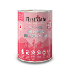 FirstMate Wild Pacific Salmon & Rice Formula Canned Dog Food