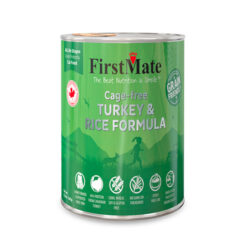 FirstMate Cage-free Turkey & Rice Formula Canned Dog Food