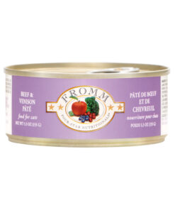 Fromm Four Star Grain Free Beef & Venison Pate Canned Cat Food