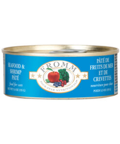Fromm Four Star Grain Free Seafood & Shrimp Pate Canned Cat Food