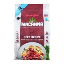 Grandma Lucy's Macanna Beef Freeze Dried Dog Food