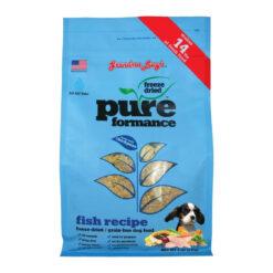 Grandma Lucy's Pureformance Grain-Free Fish Freeze-Dried Dog Food