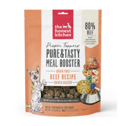 The Honest Kitchen Proper Toppers Grain-Free Beef Recipe Dog Food Topper