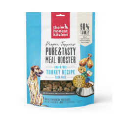The Honest Kitchen Proper Toppers Grain-Free Turkey Recipe Dehydrated Dog Food Topper