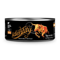 identity 95% Grass-Fed Angus Beef Canned Cat Food