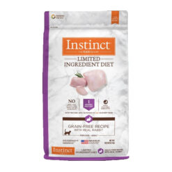 Nature's Variety Instinct Limited Ingredient Diet Grain-Free Recipe with Real Rabbit Dry Cat Food