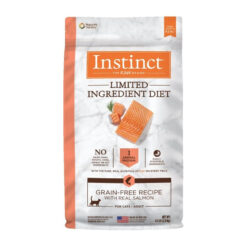 Nature's Variety Instinct Limited Ingredient Diet Grain-Free Recipe with Real Salmon Adult Dry Cat Food