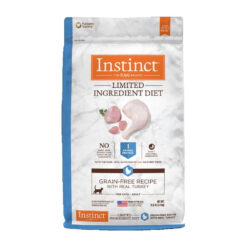 Nature's Variety Instinct Limited Ingredient Diet Grain-Free Recipe with Real Turkey Dry Cat Food