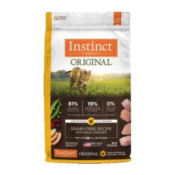Nature's Variety Instinct Original Grain-Free Recipe with Real Chicken Dry Cat Food