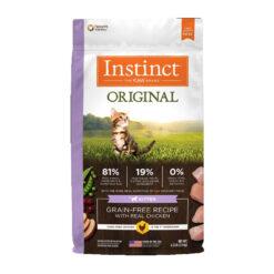 Nature's Variety Instinct Original Kitten Grain-Free Recipe with Real Chicken Dry Cat Food