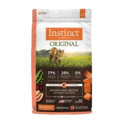 Nature's Variety Instinct Original Grain-Free Recipe with Real Salmon Dry Cat Food