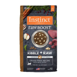 Nature's Variety Instinct Raw Boost Grain-Free Recipe with Real Duck Dry Cat Food