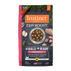 Nature's Variety Instinct Raw Boost Indoor Grain-Free Recipe with Real Chicken Dry Cat Food
