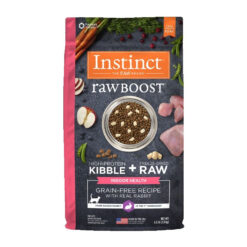 Nature's Variety Instinct Raw Boost Indoor Grain-Free Recipe with Real Rabbit Dry Cat Food