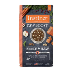 Nature's Variety Instinct Raw Boost Grain-Free Recipe with Real Salmon Dry Cat Food