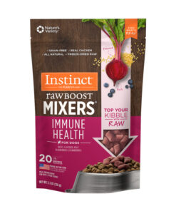 Nature's Variety Instinct Freeze Dried Raw Boost Mixers Grain-Free Immune Health Recipe Dog Food Topper