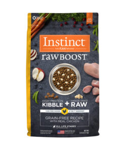 Nature's Variety Instinct Raw Boost Grain-Free Recipe with Real Chicken Dry Dog Food