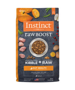 Nature's Variety Instinct Raw Boost Gut Health Grain-Free Recipe with Real Chicken Adult Dry Dog Food