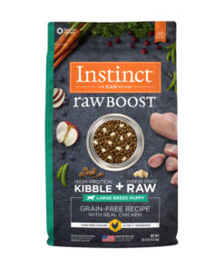 Nature's Variety Instinct Raw Boost Large Breed Puppy Grain-Free Recipe with Real Chicken Dry Dog Food