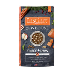 Nature's Variety Instinct Raw Boost Grain-Free Recipe with Real Salmon Dry Dog Food