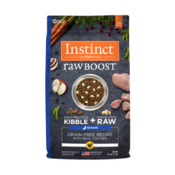 Nature's Variety Instinct Raw Boost Senior Grain-Free Recipe with Real Chicken Dry Dog Food